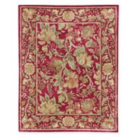 Capel Rugs® Garden Farms 8' x 11' Hand-Tufted Area Rug in Red