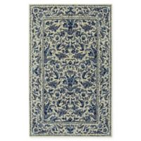 Capel Rugs Garden Farms 2' x 3' Accent Rug in Beige/Blue