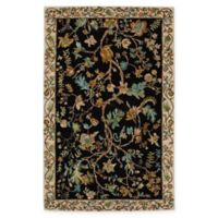Capel Rugs Garden Farms 2' x 3' Accent Rug in Black