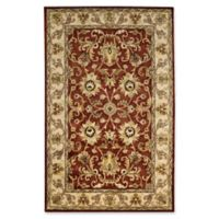Capel Rugs Guilded 4' x 6' Area Rug in Red