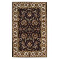Capel Rugs Guilded 4' x 6' Area Rug in Brown/Beige