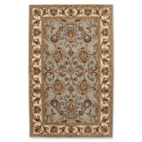 Capel Rugs Guilded 4' x 6' Area Rug in Smoke