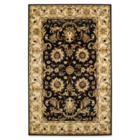 Capel Rugs Guilded 5' x 8' Area Rug in Black/Beige