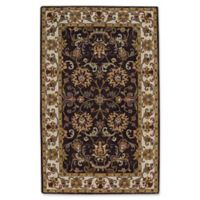 Capel Rugs Guilded 5' x 8' Area Rug in Brown/Beige