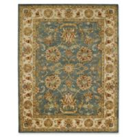Capel Rugs Guilded 7' x 9' Area Rug in Blue/Beige