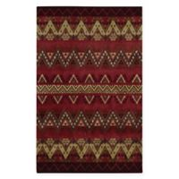 Capel Rugs® Fort Apache 5' x 8' Hand-Tufted Area Rug in Red