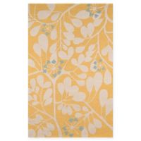 Momeni Dunes 5' x 8' Area Rug in Gold