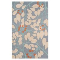 Momeni Dunes 5' x 8' Area Rug in Blue