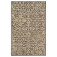 Momeni Cosette Scroll 2' x 3' Accent Rug in Blue