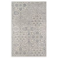 Momeni Cosette Scroll 2' x 3' Accent Rug in Grey