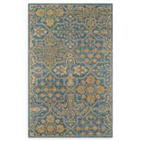 Momeni Cosette Scroll 2' x 3' Accent Rug in Blue
