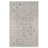 Momeni Cosette Scroll 3'6 x 5'6 Area Rug in Grey