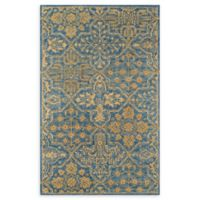 Momeni Cosette Scroll 5' x 8' Area Rug in Blue