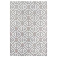 Momeni Bliss Geometric 8' x 10' Area Rug in Grey