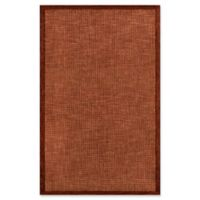 Momeni Delhi 8' x 10' Area Rug in Rust
