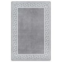Momeni Bliss Border 8' x 10' Area Rug in Grey