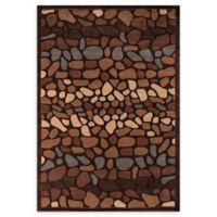Momeni Bliss 5' x 7'6 Area Rug in Brown