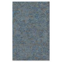 Momeni Delhi Hand-Tufted 5' x 8' Accent Rug in Blue