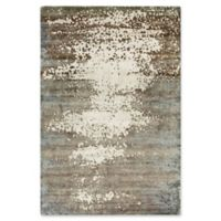 Surya Slice of Nature 2' x 3' Accent Rug in Dark Brown