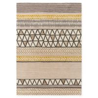 Surya Scion Modern 3'3 x 5'3 Area Rug in Camel/Brown