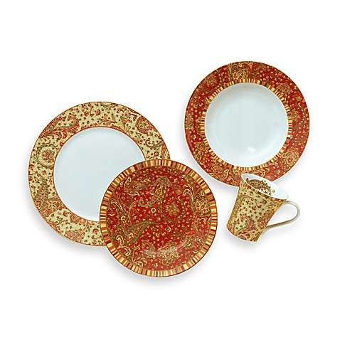 222 fifth avenue maharana 16 piece dinnerware set bed for 222 fifth dinnerware