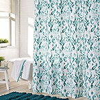 Jade Shower Curtain in Aqua