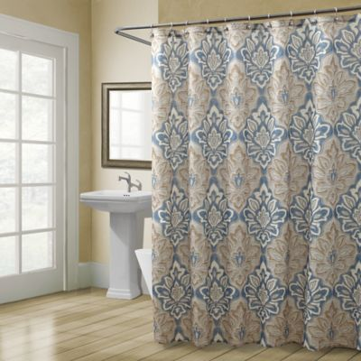 CroscillR Captains Quarters Shower Curtain In Beige