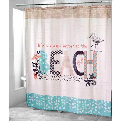 Avanti Life At The Beach Shower Curtain