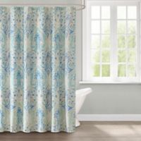 Echo Ravi Shower Curtain in Blue
