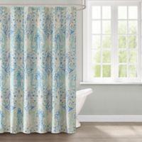 Echo Ravi Shower Curtain In Blue