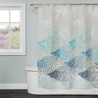 Saturday Knight School Of Fish Shower Curtain In Blue