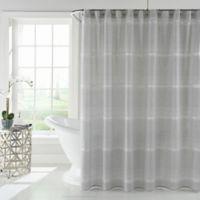 Zona Shower Curtain in Grey