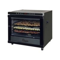 Chard® 80-Liter Commercial Dehydrator in Stainless Steel/Black