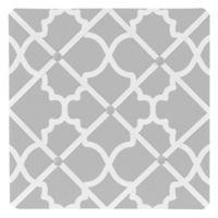 Sweet Jojo Designs Trellis Memo Board in Grey and White