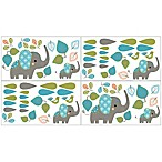 Sweet Jojo Designs Mod Elephant Wall Decals