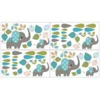 Sweet Jojo Designs Mod Elephant Wall Decals