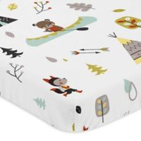 Sweet Jojo Designs Outdoor Adventure Mini-Crib Sheet