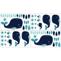 Sweet Jojo Designs Whale Wall Decals