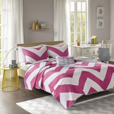 comforter grey piece size victoria queen set and sets reversible full secret home pink