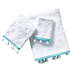 Jade Hand Towel in Aqua