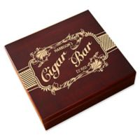 Cigar Bar 20-Count Cherry Wood Cigar Humidor