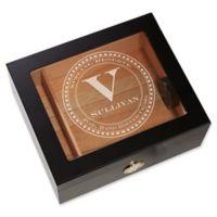 Gentleman's Seal Premium Cigar Humidor in Black