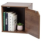 IRIS® Storage Cube Box in Brown