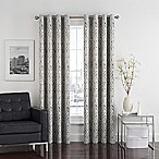 Twilight Ikat 84-Inch Grommet Room-Darkening Window Curtain Panel in Natural