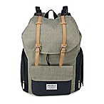 Eddie Bauer® Backpack Diaper Bag in Grey/Navy