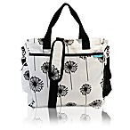 Baby K'tan® Original Dandelion Diaper Bag in Black/White