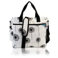 Baby K'tan® Original Dandelion Diaper Bag in Black/White