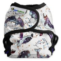 Best Bottom Cloth Diaper Cover Shell in Celestial Sea