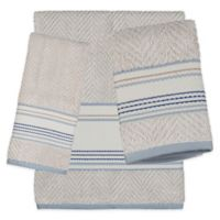 Creative Bath Ticking Stripe Bath Towel