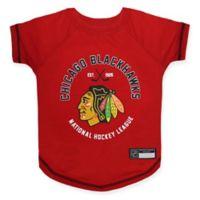 NHL Chicago Blackhawks Large Pet T-Shirt